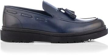 Chaussures Slip-on pour Hommes Luigi Bleu