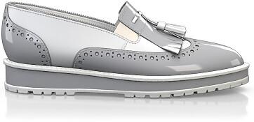 Chaussures à Plateformes à Enfiler 4523