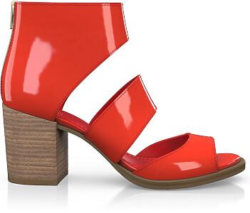 Sandales à Talon Large 4670