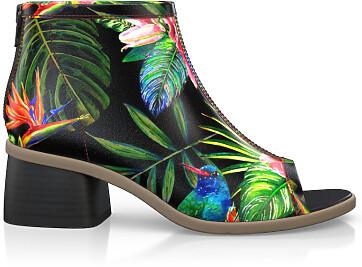 Sandales avec bout ouvert 4885