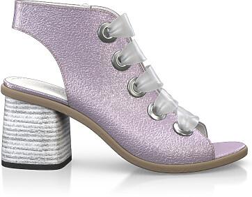 Sandales avec bout ouvert 5009