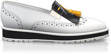 Chaussures à Plateformes à Enfiler 5165