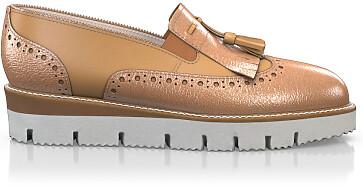 Chaussures à Plateformes à Enfiler 6005