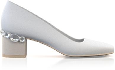 Chaussures à talons bijoux