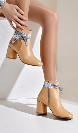 SUMMER ANKLE BOOTS