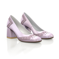 SQUARE HEELED SHOES 16431