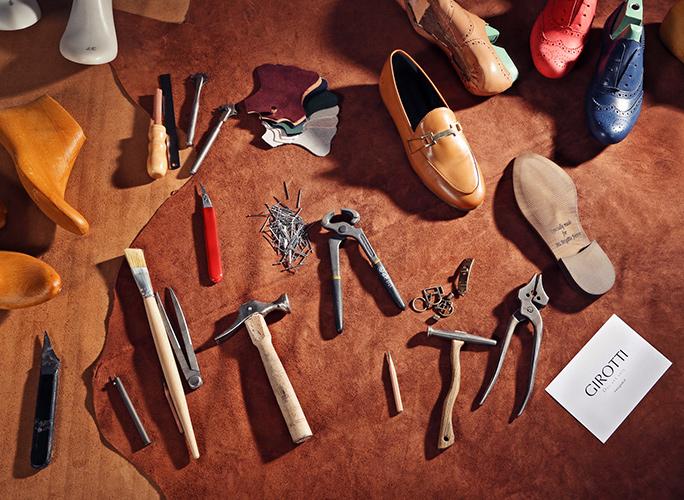 girotti shoes craftmanship