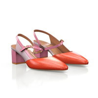 MID HEEL POINTED TOE SHOES 18262