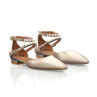 POINTED TOE FLAT SHOES 18268