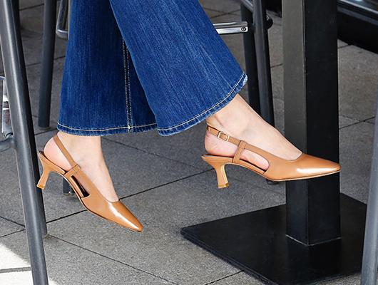 Caramel heels