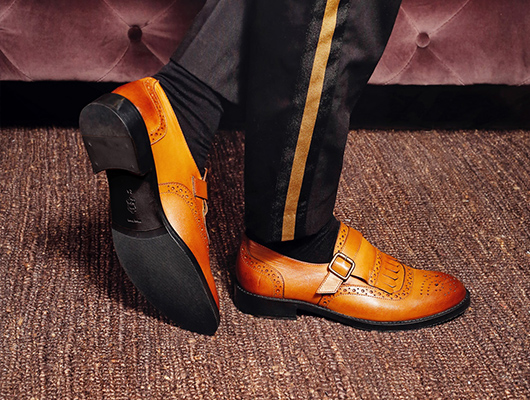 Monk strap shoes 6224